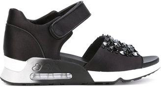 Ash 'Lotus' sandals $179.41 thestylecure.com