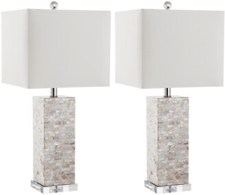 Safavieh Set Of 2 25In Homer Table Lamps