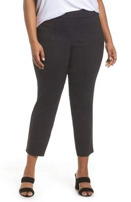 Sejour Textured Stretch Crop Pants