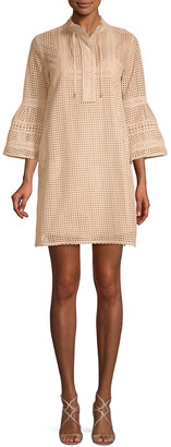 Paul & Joe Sister Larochelle Bell-Sleeve Shift Dress