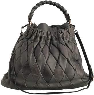 Miu Miu Matelasse Leather Handbag