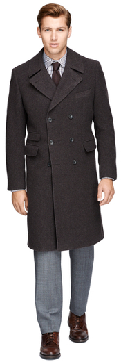 Brooks Brothers  Double-Breasted Topcoat