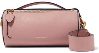 Burberry Textured-leather Shoulder Bag - Blush