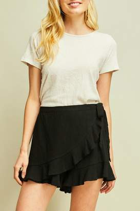 Entro High-Waisted Ruffle Skort