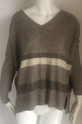 RD Style Beige V-Neck Sweater