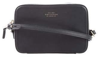 Smythson Leather Crossbody Bag