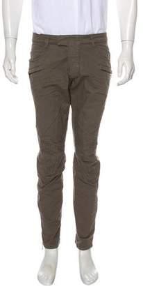 Balmain Cropped Biker Skinny Pants w/ Tags