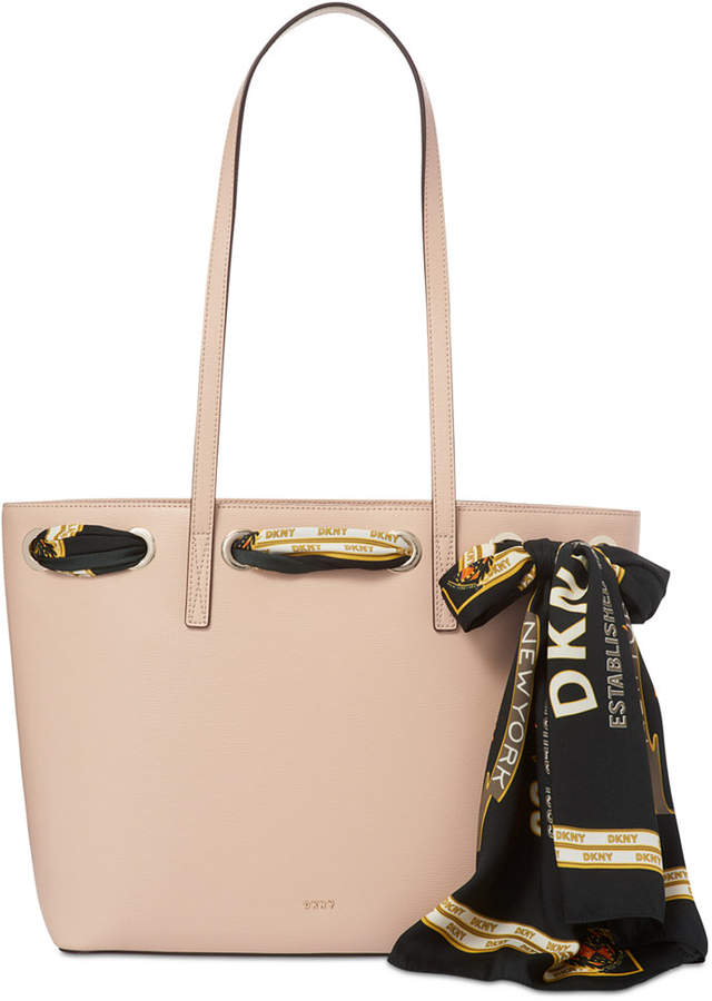 Dkny Large Tote with Scarf, Created for Macy's