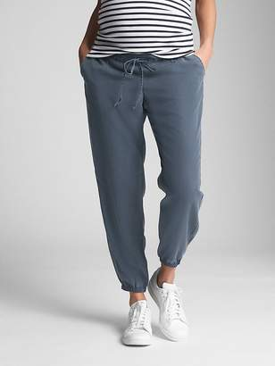 Gap Maternity Drawstring Joggers in TENCEL