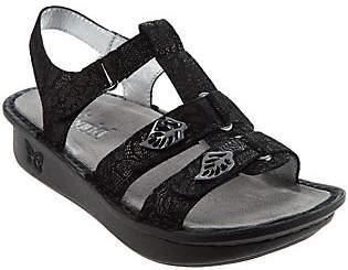 Alegria Leather Multi-strap Sandals w/Backstrap- Kleo