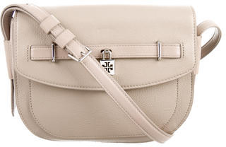 Tory Burch Tory Burch Leather Saddle Bag