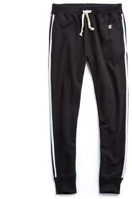 Todd Snyder + Champion Striped Slim Sweatpant In Black