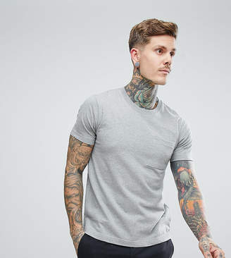 Nudie Jeans Kurt worker t-shirt in gray