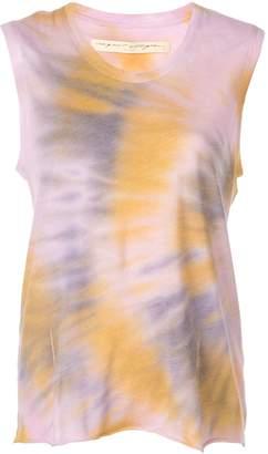 Raquel Allegra tie-dye muscle tank top