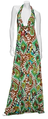 Alexis Gwen Jersey Strapless/Halter Dress