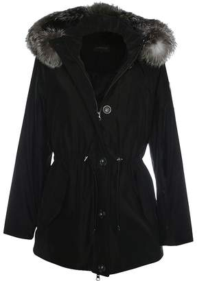 Oakwood Alpine Black Fur Trim Hooded Parka