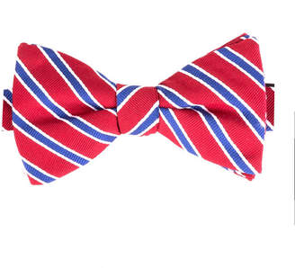 STAFFORD Stafford Fashion Stripe Bow Tie