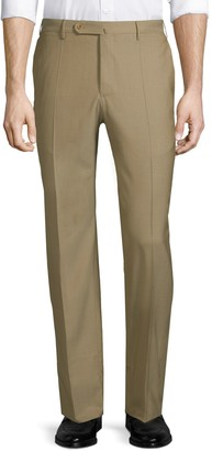 Incotex Matty Straight-Leg Wool Pants