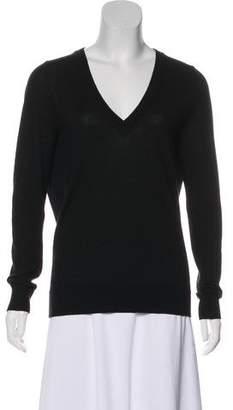 Michael Kors Wool-Blend V-Neck Sweater