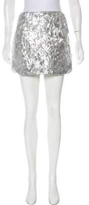 Koch Metallic Textured Skirt w/ Tags