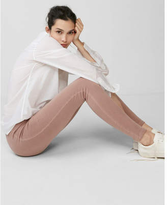 Express washed pull-on legging