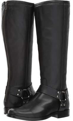 Frye Phillip Harness Tall Wide Calf Women's Zip Boots