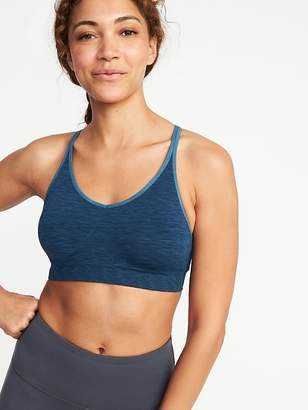 Old Navy Seamless Light Support Sports Bra for Women