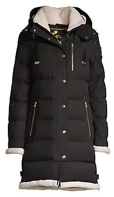 Moose Knuckles Women's Gold Series Mont Joli Shearling Lined Parka