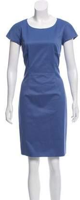 Max Mara Weekend Short Sleeve Knee-Length Dress
