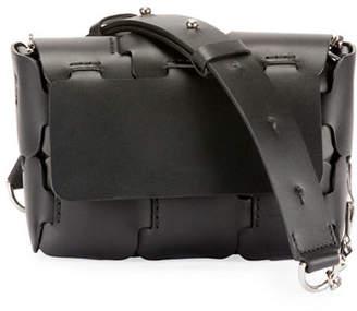 Paco Rabanne 1601 Mini Sleek Calfskin Shoulder Bag