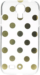 Kate Spade Le Pavillion Clear Resin Phone Case for Samsung Cell Phone Case