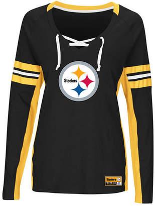 Majestic Women's Pittsburgh Steelers Winning Style Long Sleeve T-Shirt