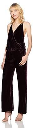 Young Fabulous & Broke Women's Naomi Velvet Jumpsuit