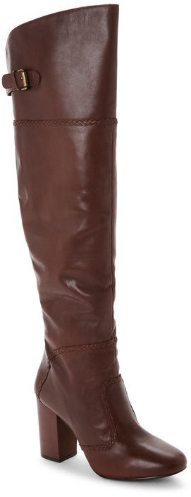 Nine Westnine west Whiskey Jena Block Heel Over The Knee Boots