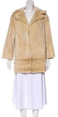 Fur Reversible Sheared Mink Coat
