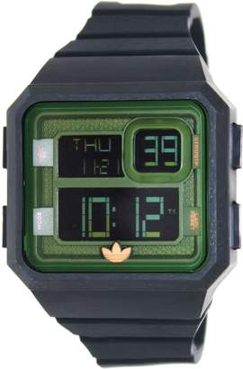 adidas Men's Santiago ADH2883 Digital Silicone Quartz Watch