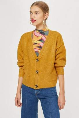 Topshop Supersoft Pocket Cardigan