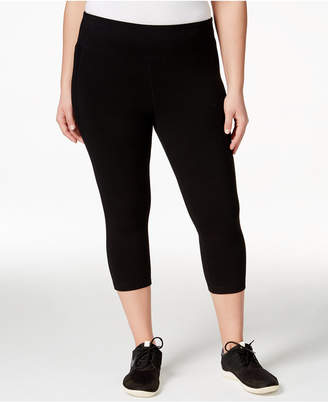 Ideology Plus Size Slimming Cropped Leggings
