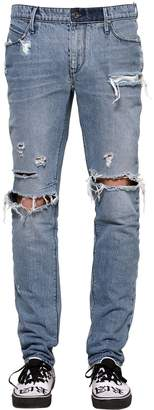 RtA 17.5cm Slim Destroyed Washed Denim Jeans