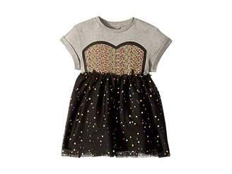 Stella McCartney Kaitlin Tulle Twofer Dress (Toddler/Little Kids/Big Kids)