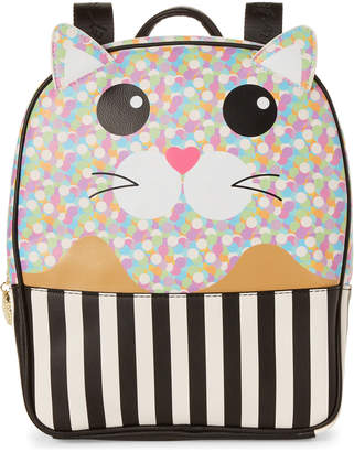 Betsey Johnson Confetti Max Kitch Mini Cat Backpack