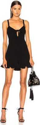 Cinq à Sept Audrey Romper in Black | FWRD
