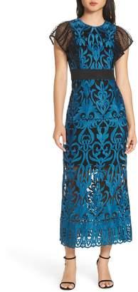 Foxiedox Rosalynn Lace Midi Dress