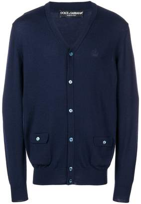 Dolce & Gabbana basic buttoned cardigan