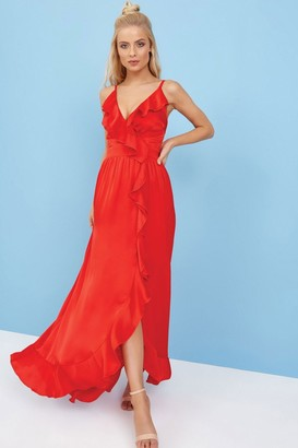 89ef4bac13a6e Red Maxi Dress - ShopStyle UK