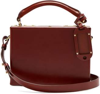 Sophie Hulme Albany leather cross-body bag