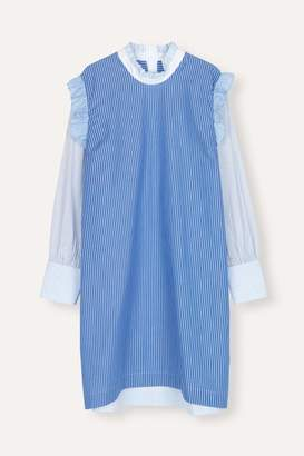 Libertine-Libertine Aida Blue Stripe Mix Sky Dress - XSMALL