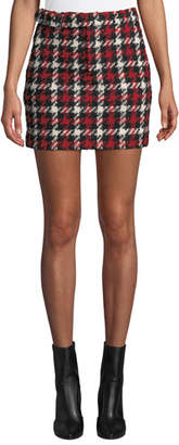McQ Belted Mini Skirt