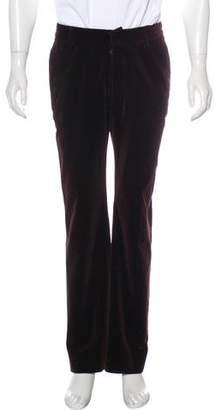 Maison Margiela 2001 Velvet Wide-Leg Pants