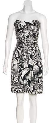 Yigal Azrouel Silk Printed Dress